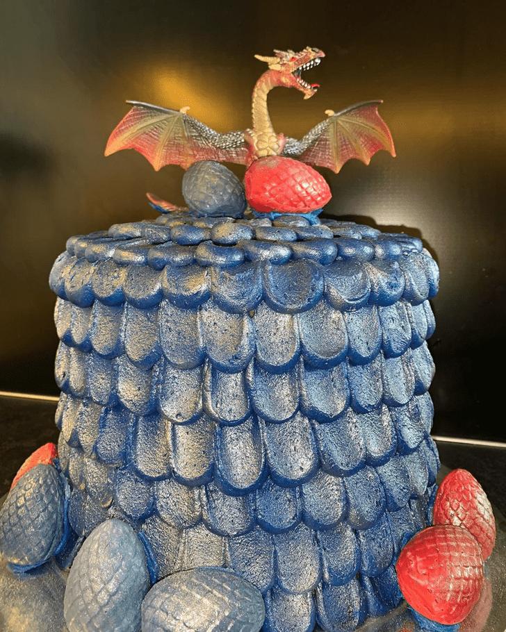 Admirable Dragon Cake Design