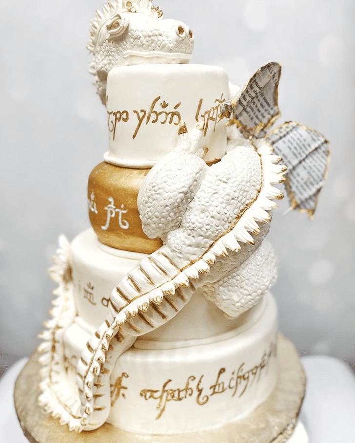 Alluring Dragon Cake