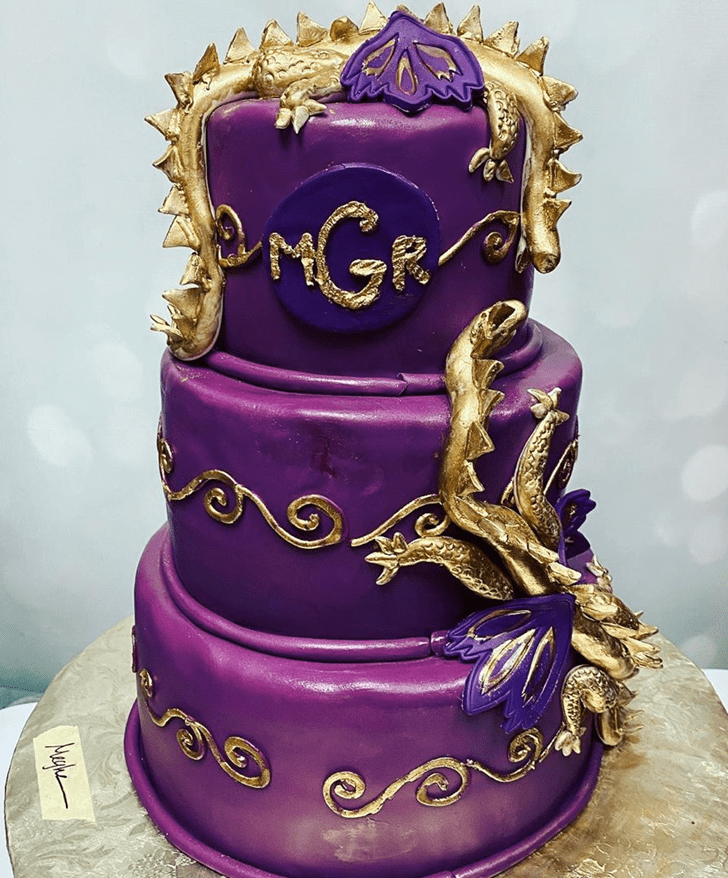 Angelic Dragon Cake