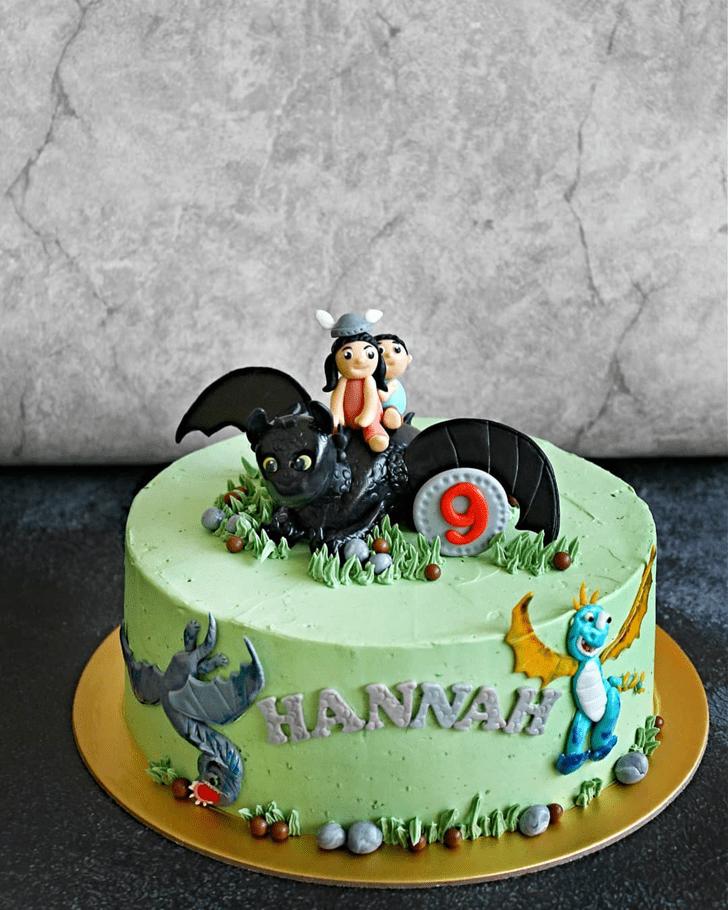 Charming Dragon Cake