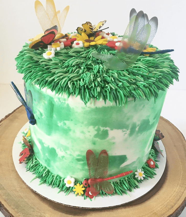Angelic Dragonfly Cake