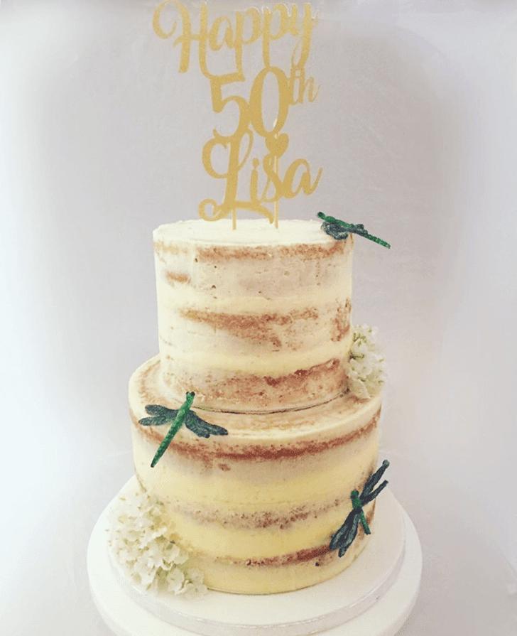 Delightful Dragonfly Cake
