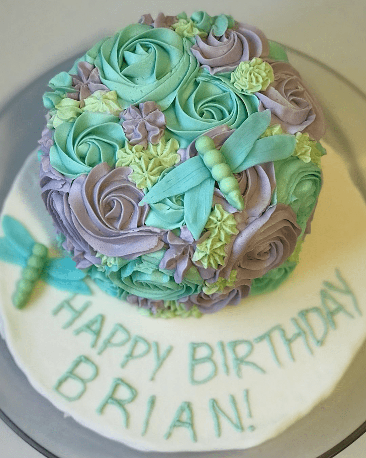 Fetching Dragonfly Cake