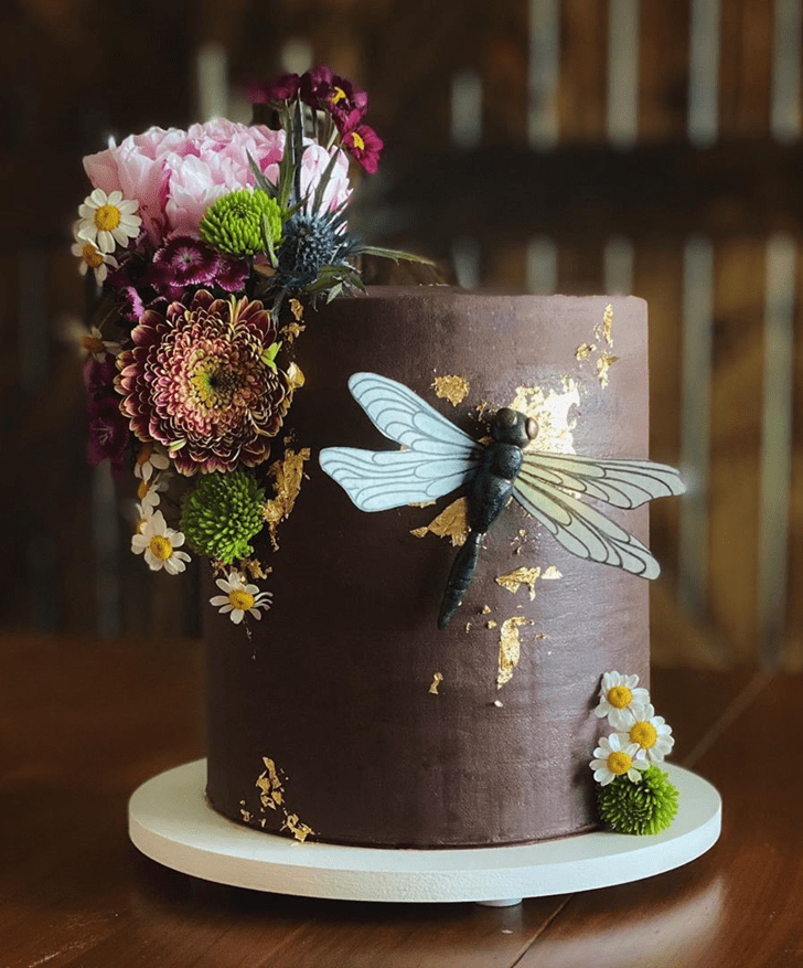 Magnetic Dragonfly Cake