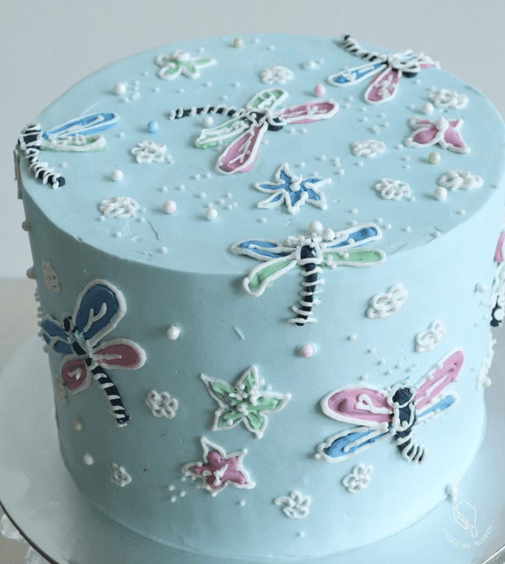 Magnificent Dragonfly Cake