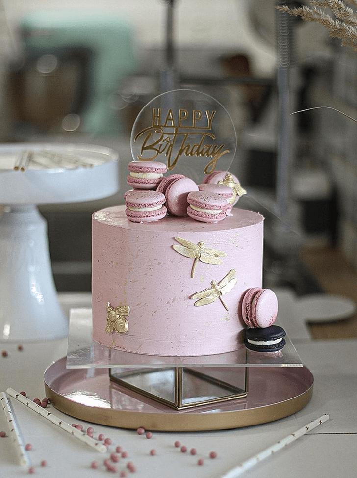 Pleasing Dragonfly Cake