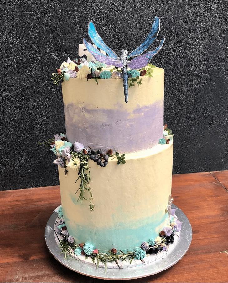 Slightly Dragonfly Cake
