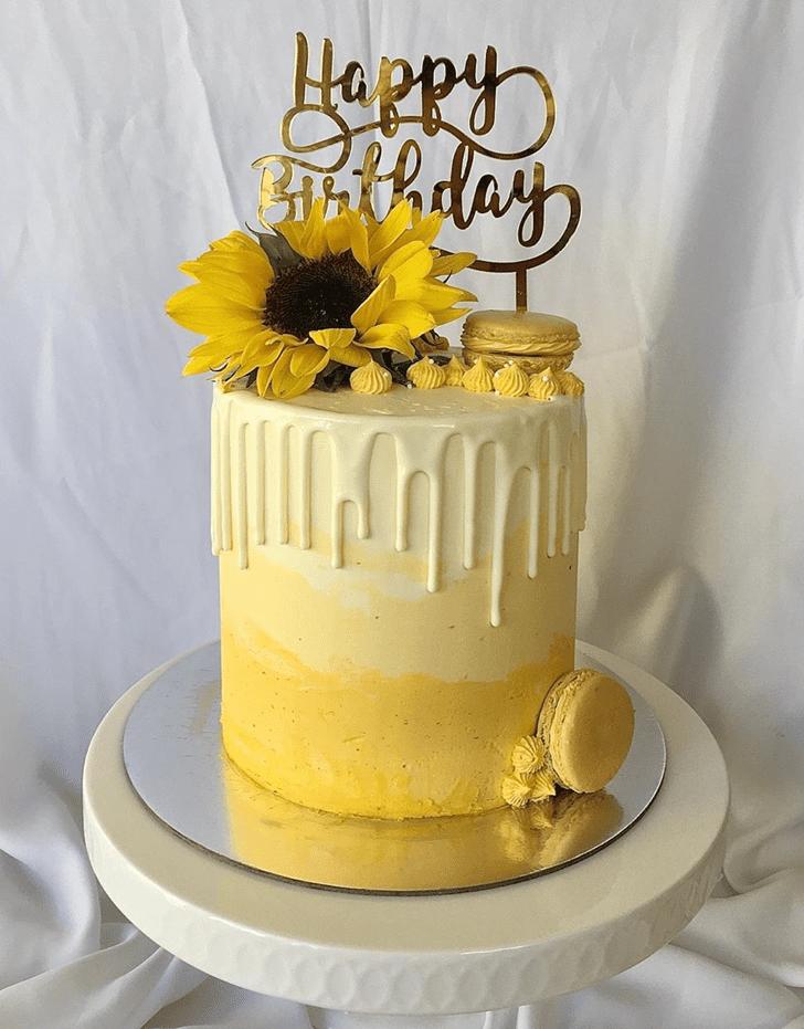 Wonderful Drip Cake Design
