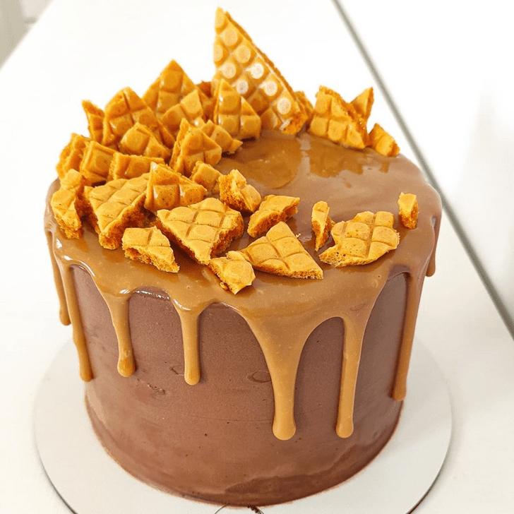 Adorable Drip Cake