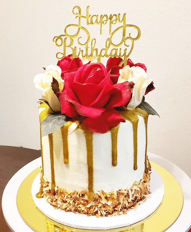 Fine Drip Cake
