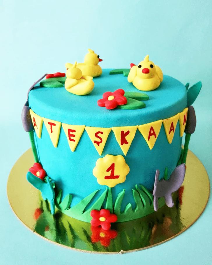 Admirable Duck Cake Design