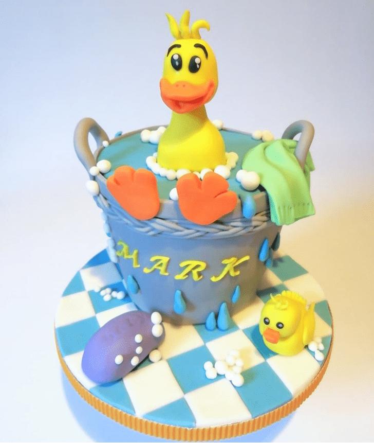 Adorable Duck Cake
