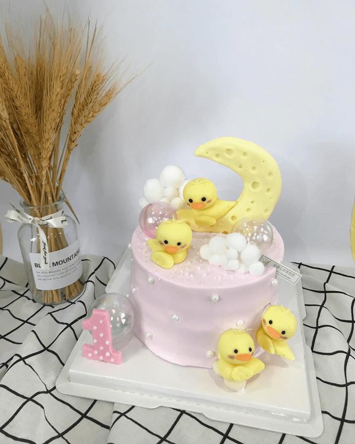 Angelic Duck Cake