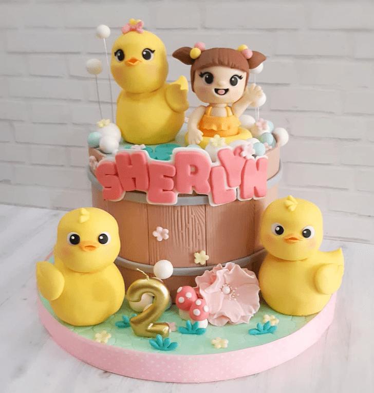 Appealing Duck Cake