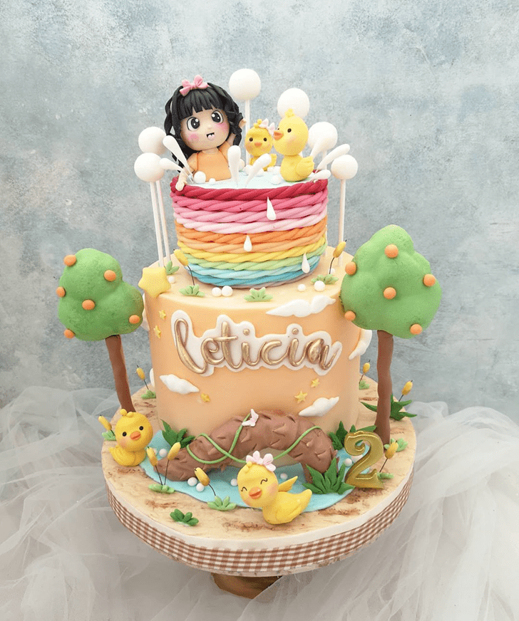 Bewitching Duck Cake