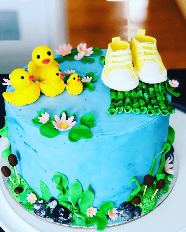 Captivating Duck Cake