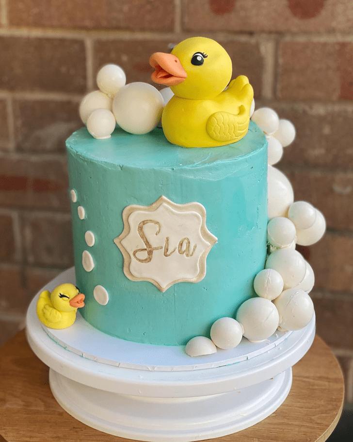 Charming Duck Cake
