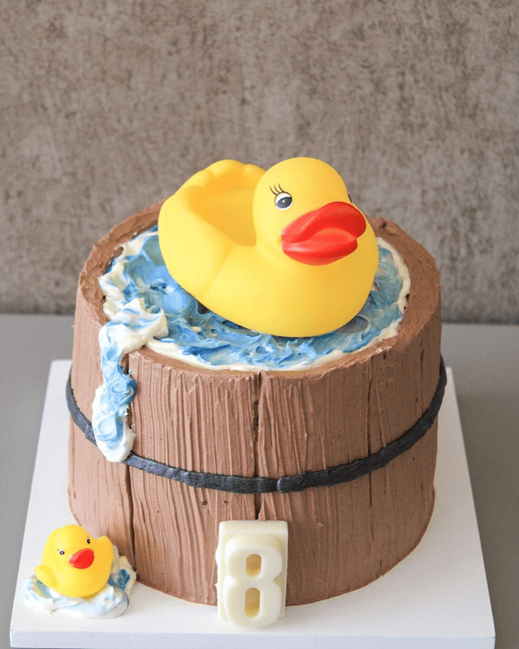 Classy Duck Cake
