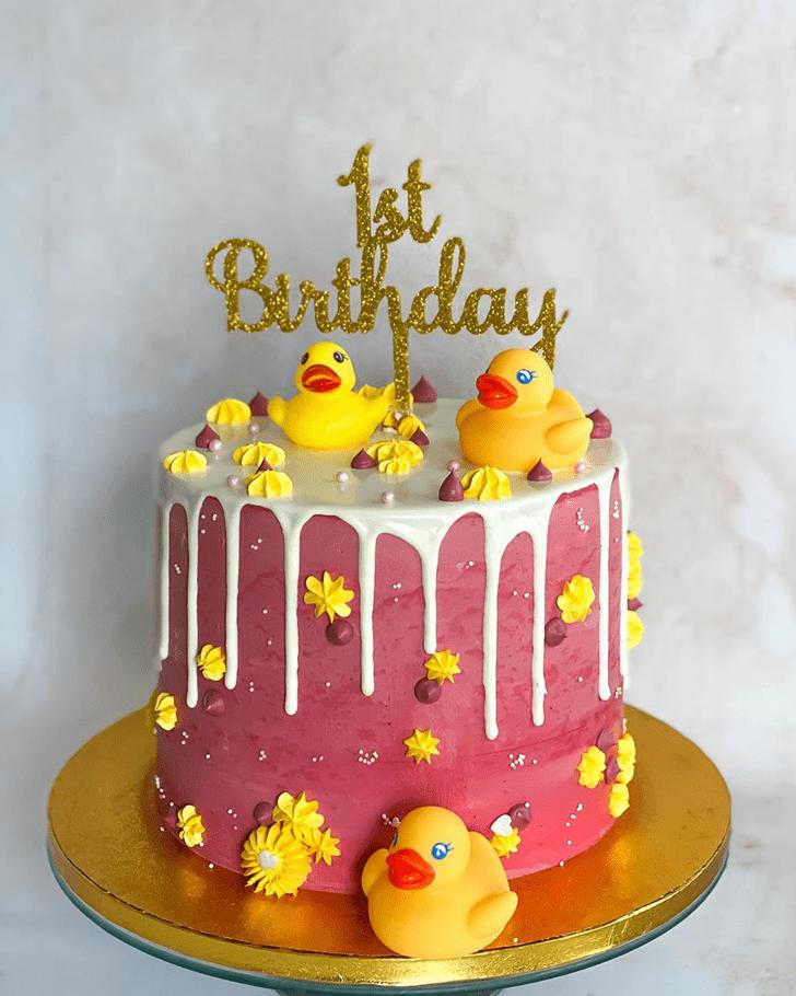 Dazzling Duck Cake