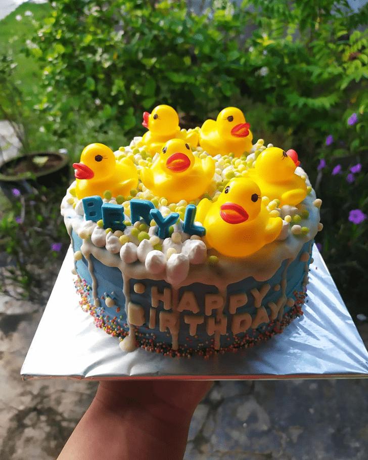Delicate Duck Cake