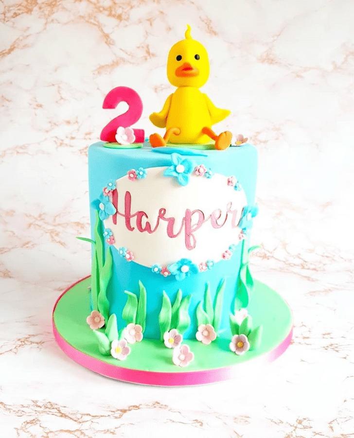 Elegant Duck Cake