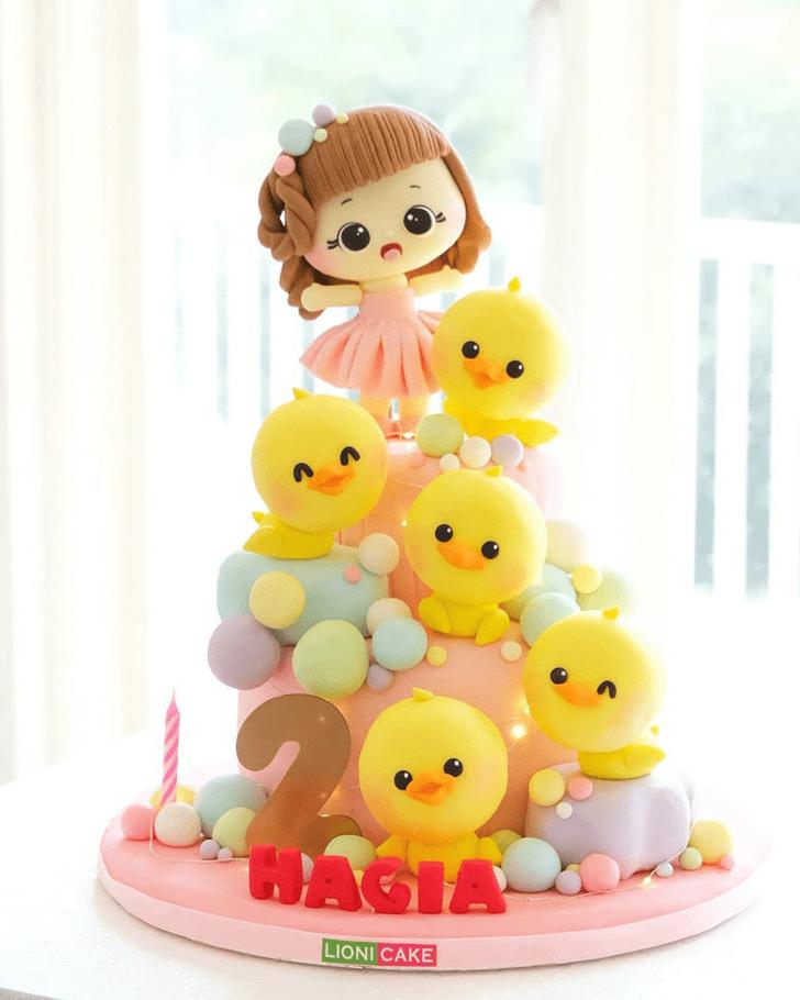 Graceful Duck Cake