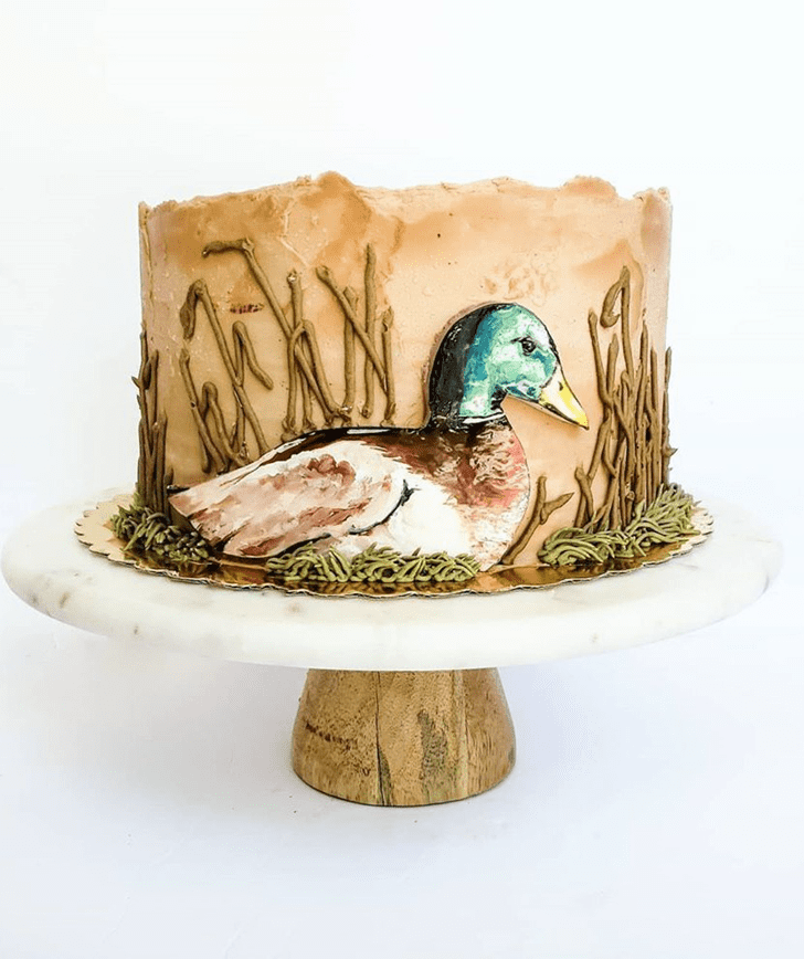 Shapely Duck Cake