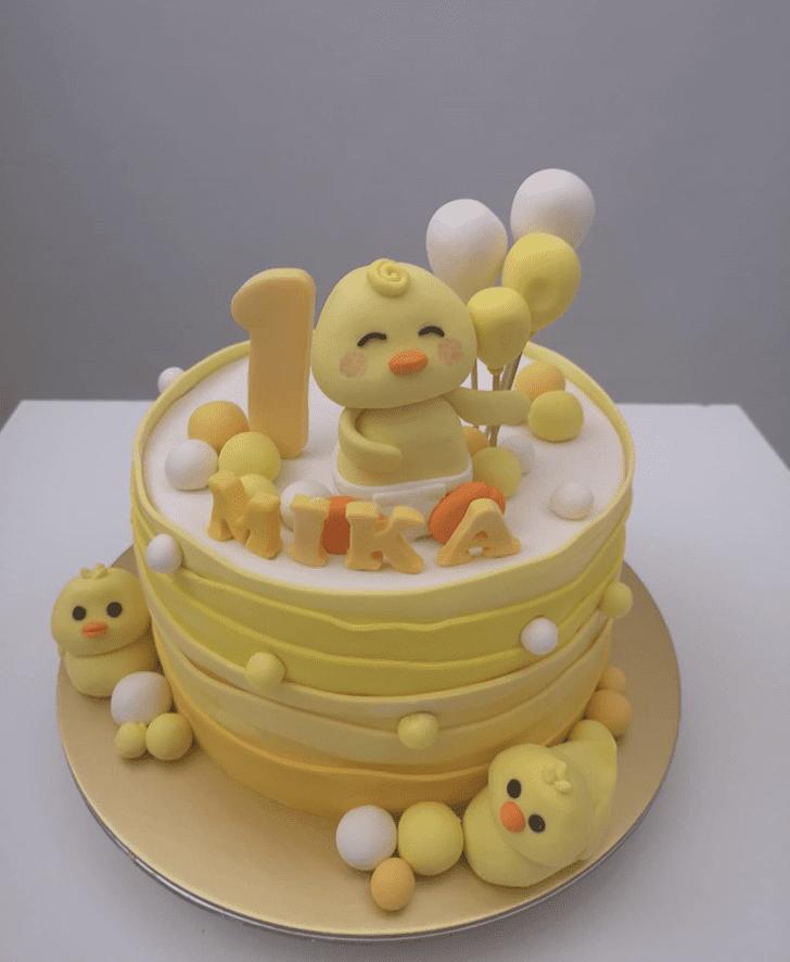 Stunning Duck Cake