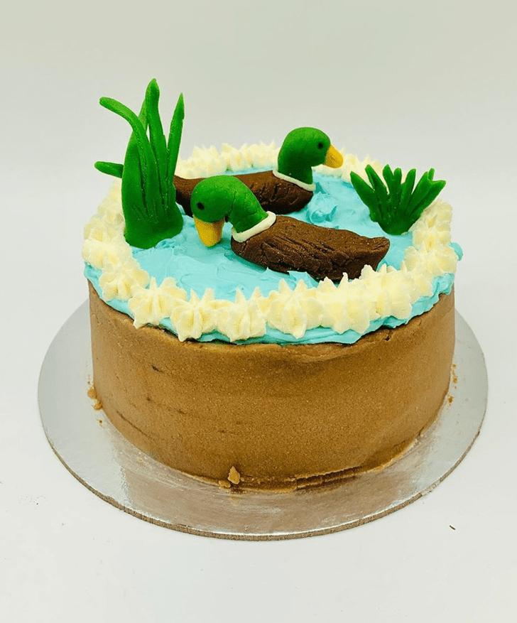 Wonderful Duck Cake Design