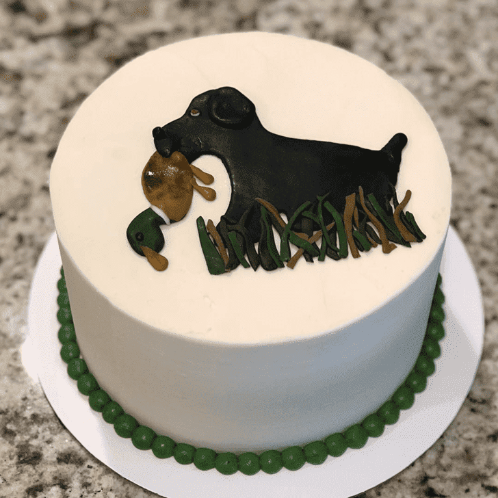 Appealing Duck Hunt Cake