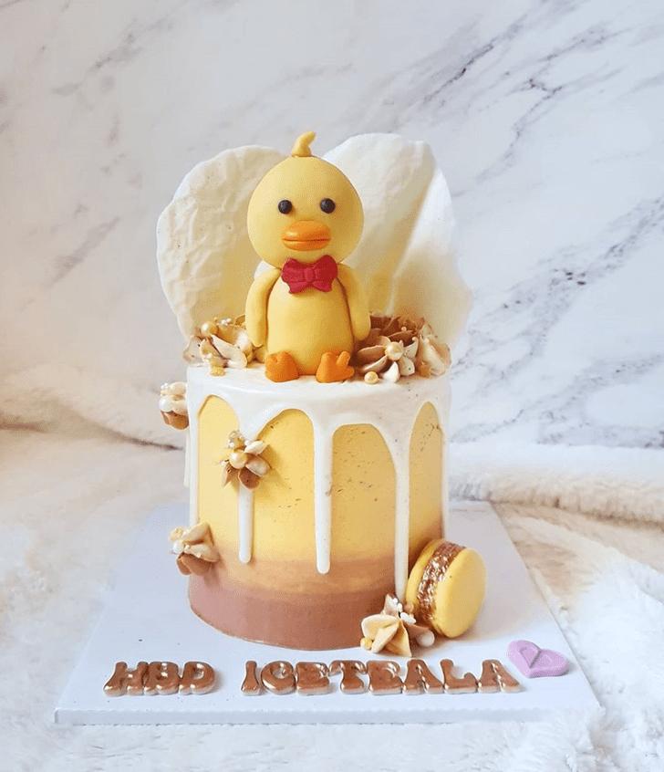 Admirable Duckling Cake Design