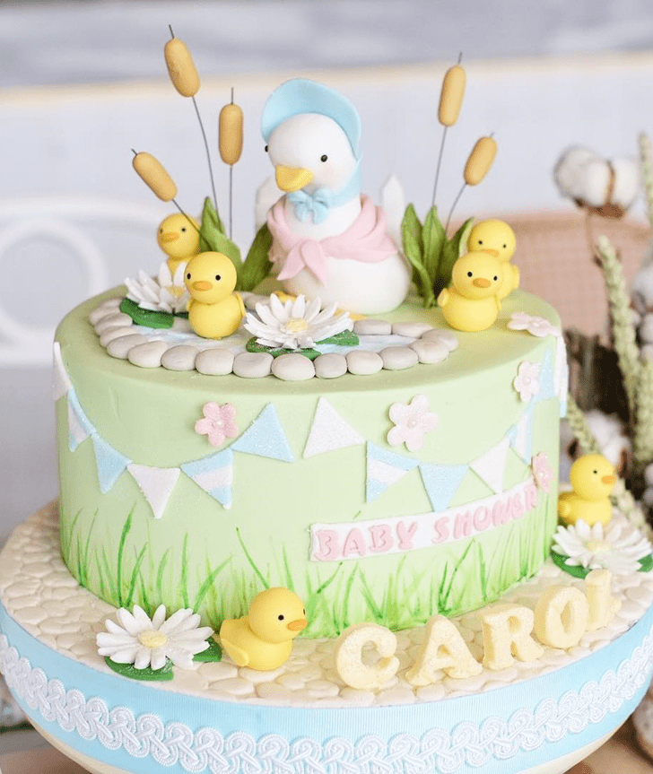 Alluring Duckling Cake