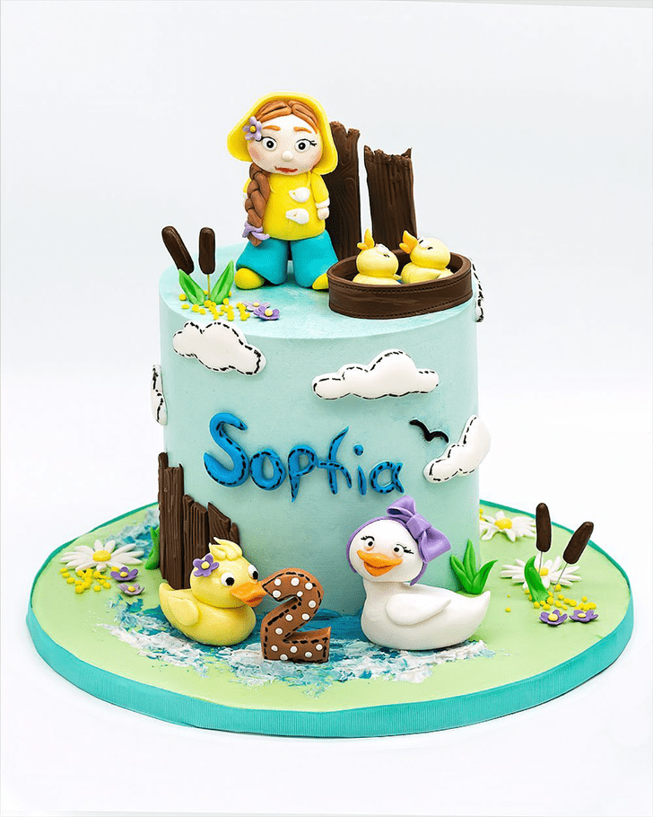 Charming Duckling Cake