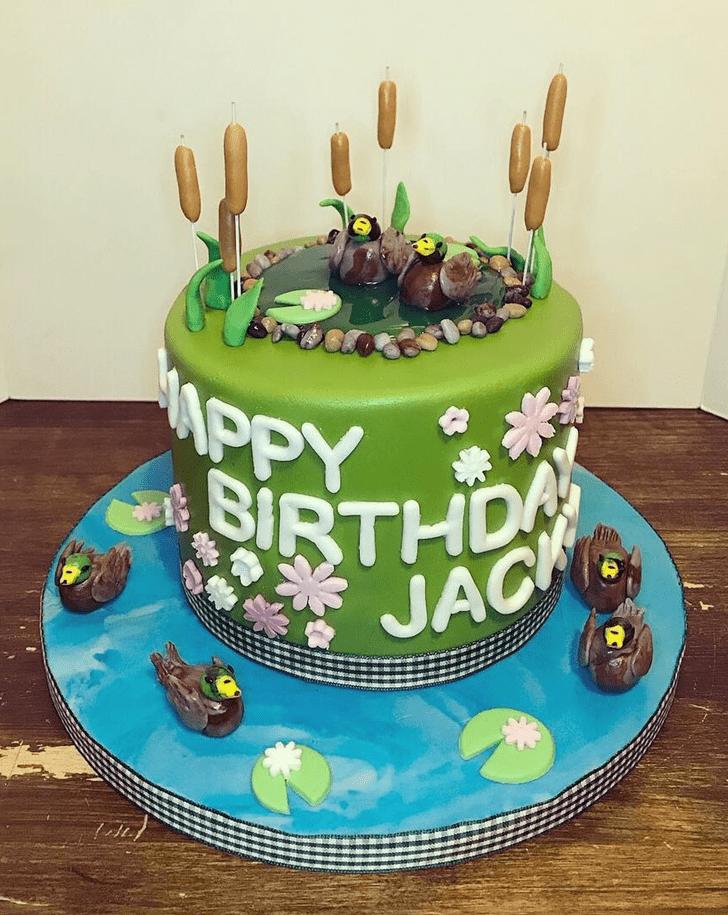 Classy Duckling Cake