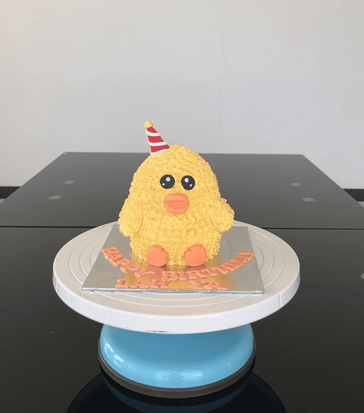 Enthralling Duckling Cake