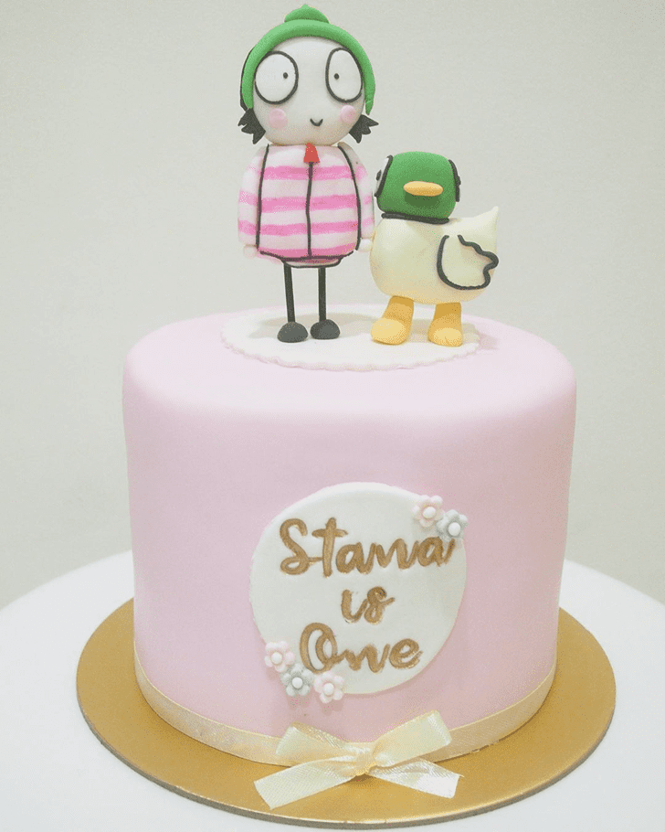 Enticing Duckling Cake