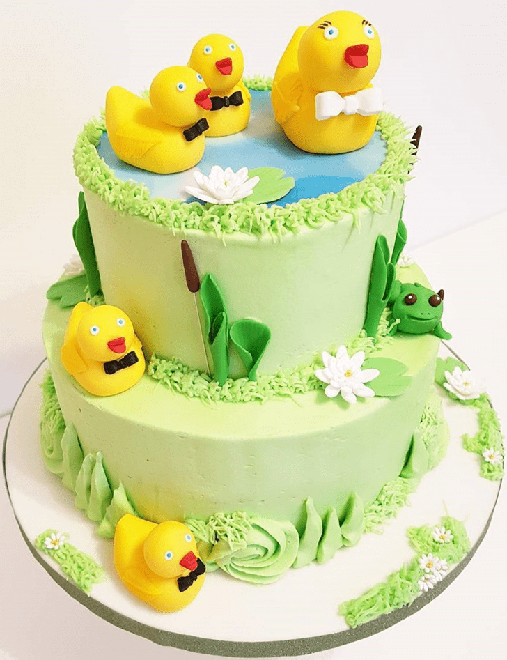Gorgeous Duckling Cake