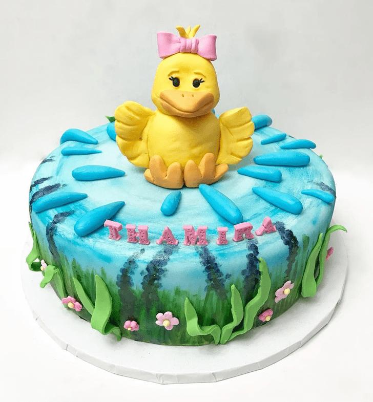 Graceful Duckling Cake