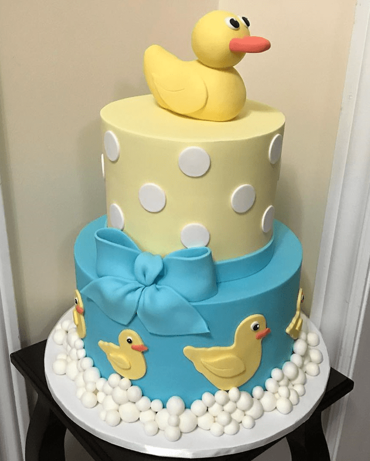 Magnetic Duckling Cake