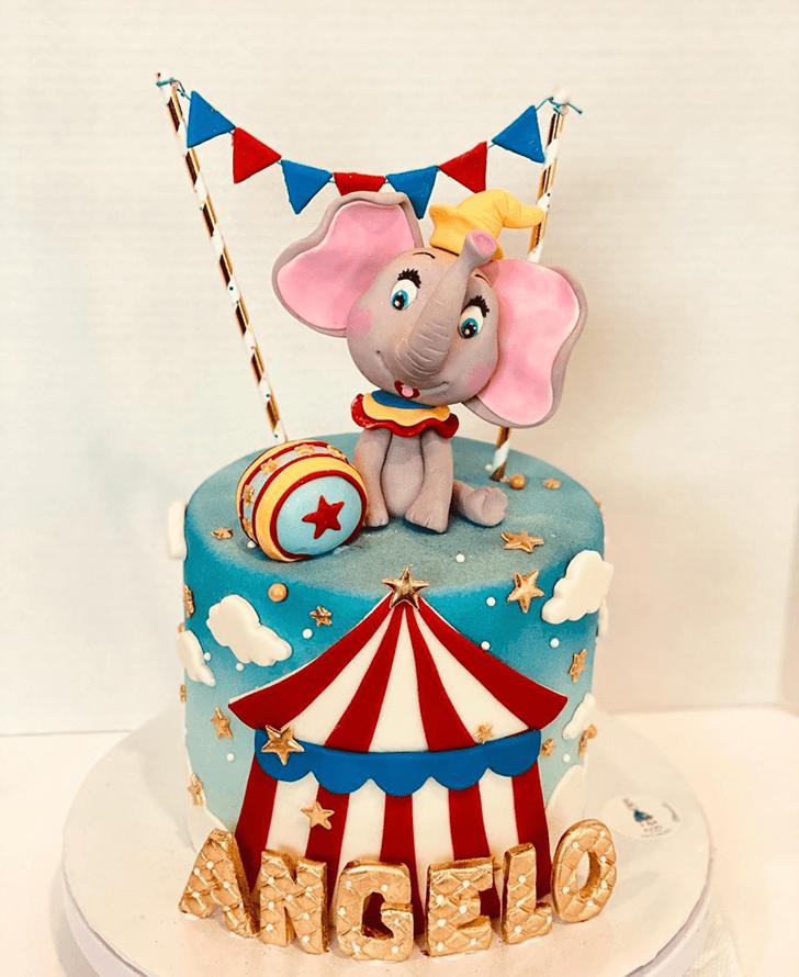 Adorable Dumbo Cake