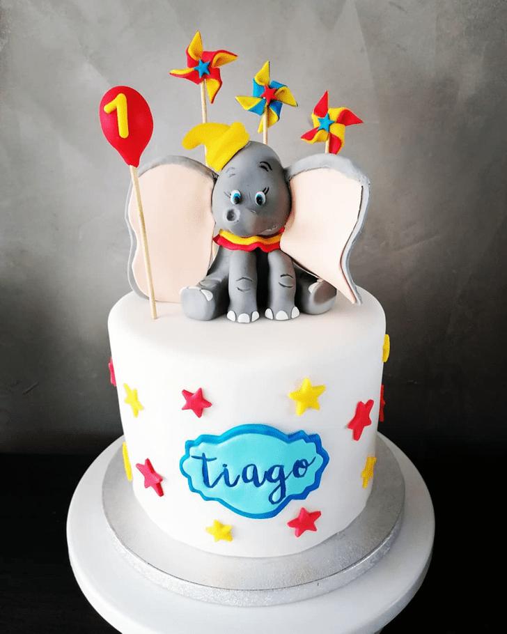 Angelic Dumbo Cake