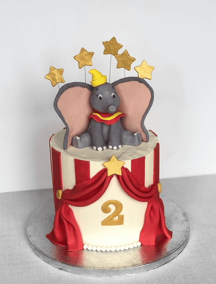Appealing Dumbo Cake
