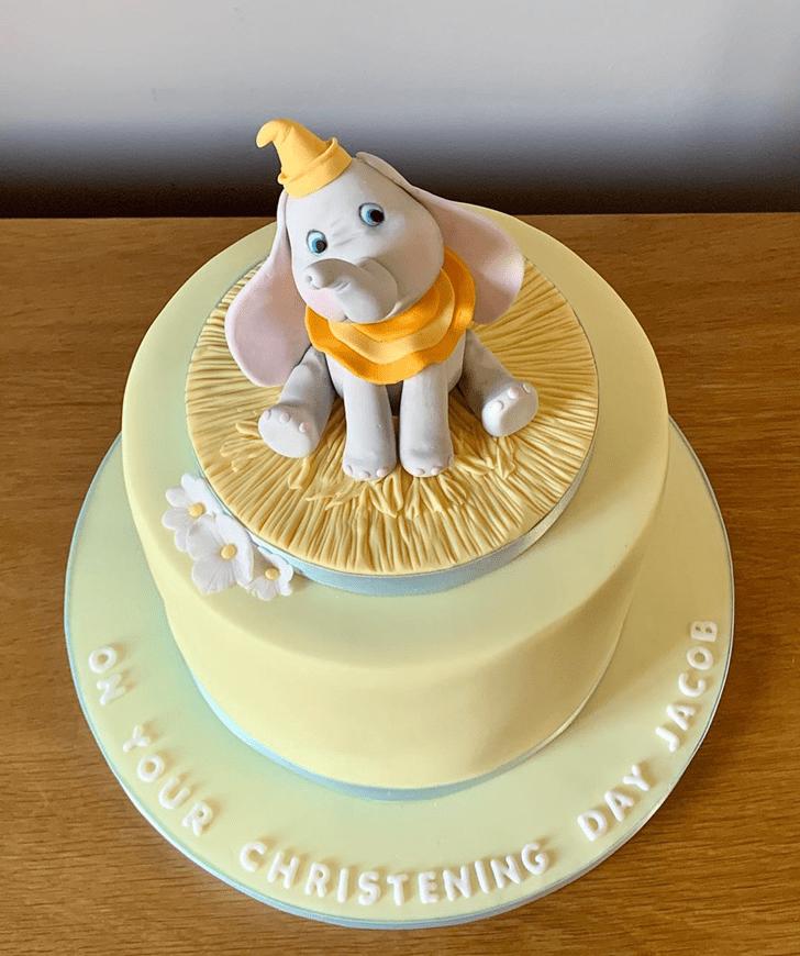 Bewitching Dumbo Cake