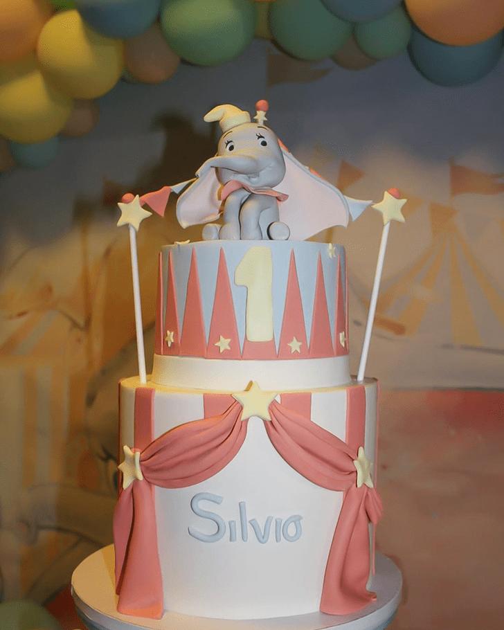 Delicate Dumbo Cake