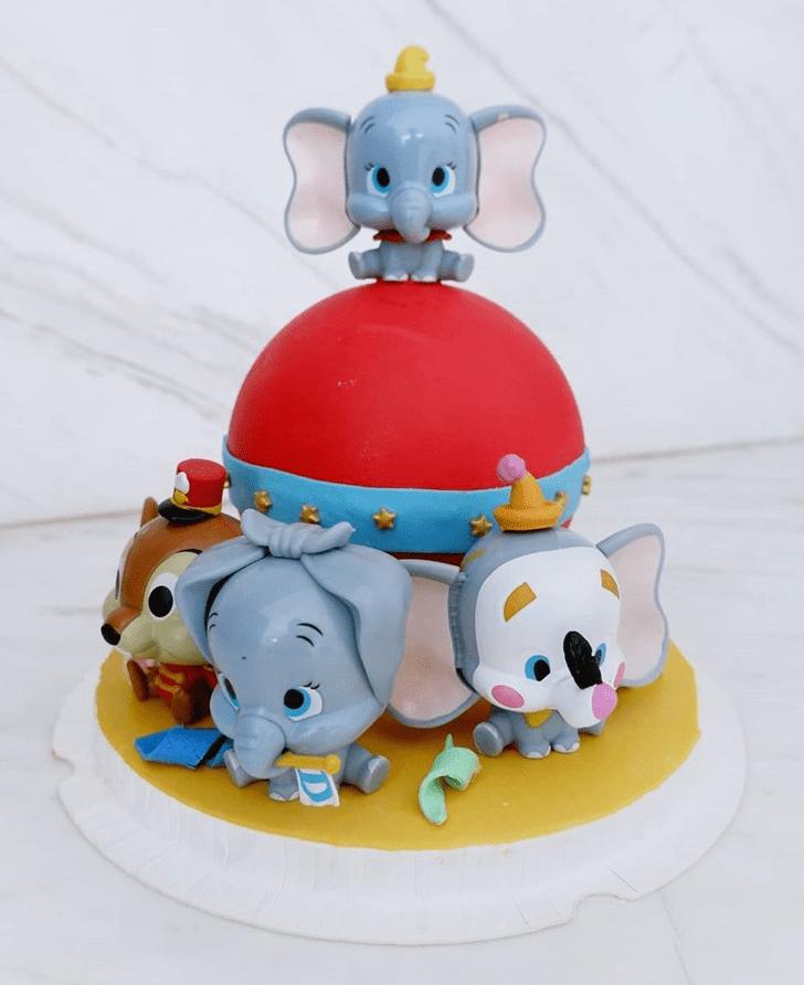 Elegant Dumbo Cake