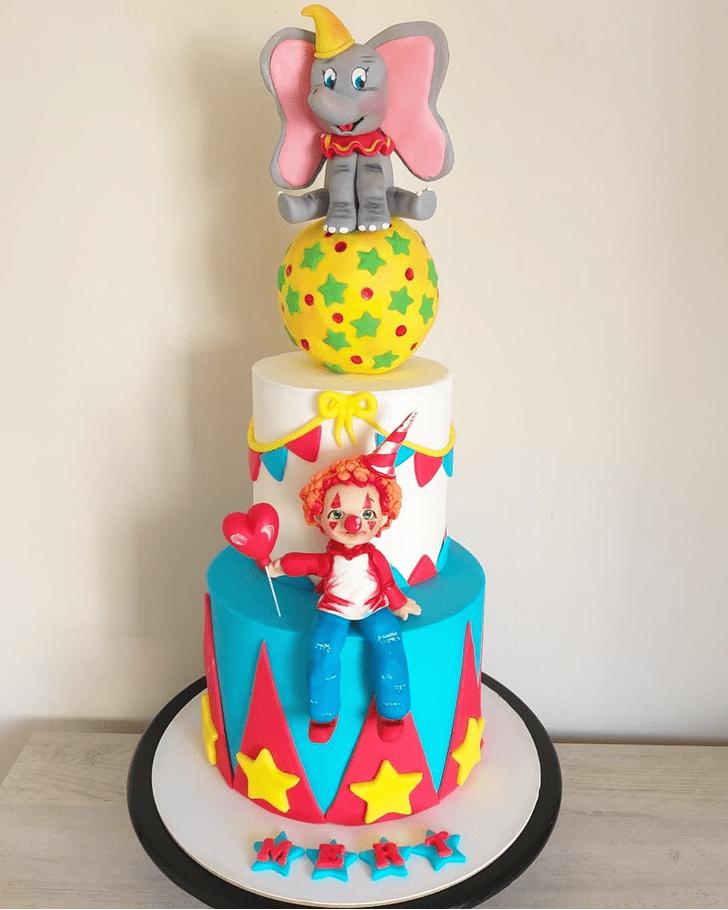 Enthralling Dumbo Cake