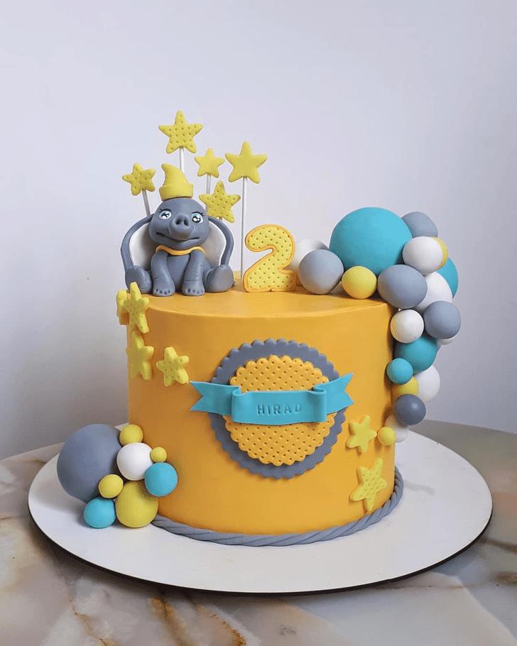 Enticing Dumbo Cake