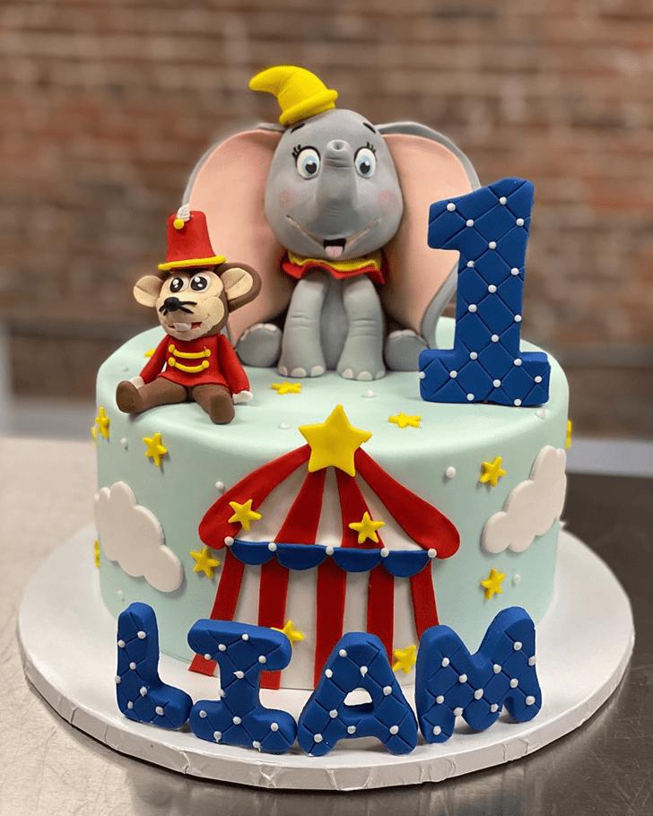 Exquisite Dumbo Cake