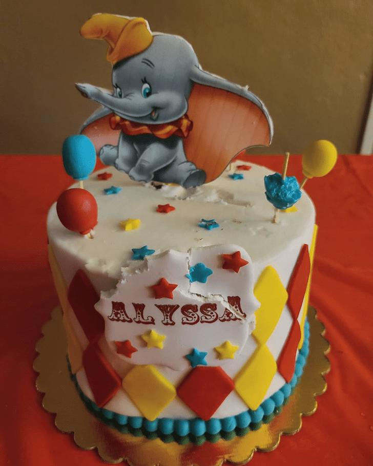 Fascinating Dumbo Cake