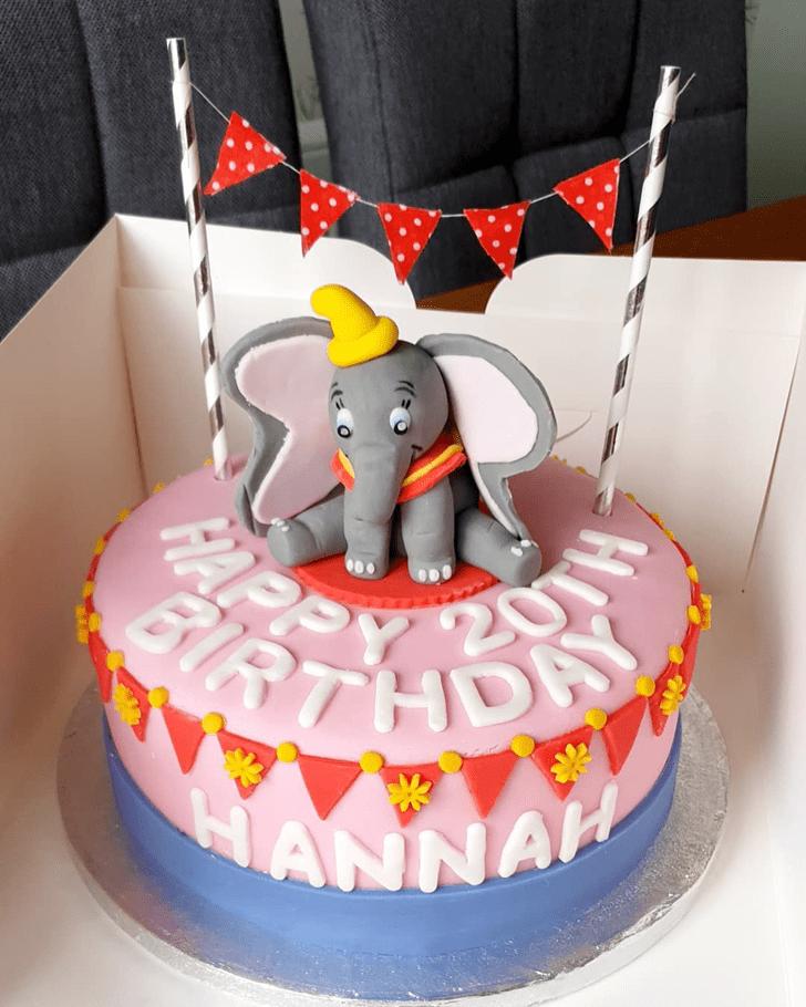 Fetching Dumbo Cake